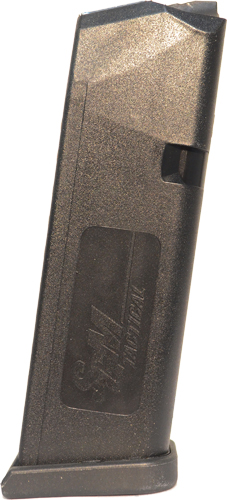 SGM TACTICAL MAGAZINE GLOCK 9MM LUGER 17RD BLACK POLYMER