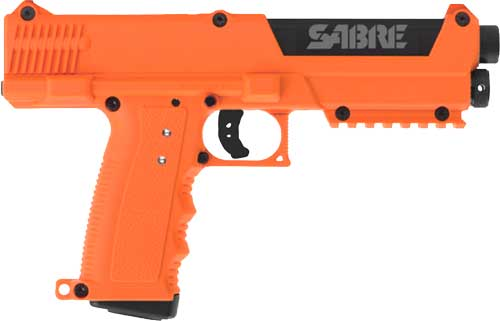 SABRE PEPPER BALL COMPACT LAUNCHER 7-PEPPER RDS ORANGE