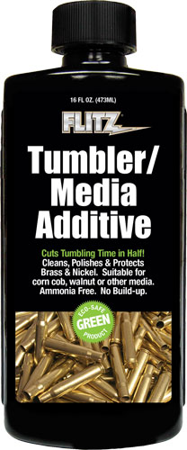 FLITZ TUMBLER MEDIA ADDITIVE 473ML 16 OZ BOTTLE