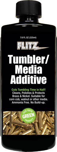 FLITZ TUMBLER MEDIA ADDITIVE 225ML 7.6 OZ BOTTLE