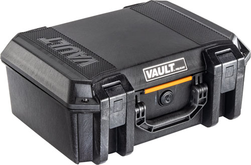 PELICAN VAULT LARGE PISTOL CASE W/ FOAM BLACK